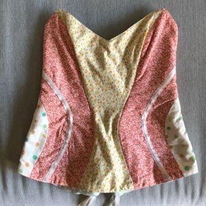 Tops - Red Penélope corset